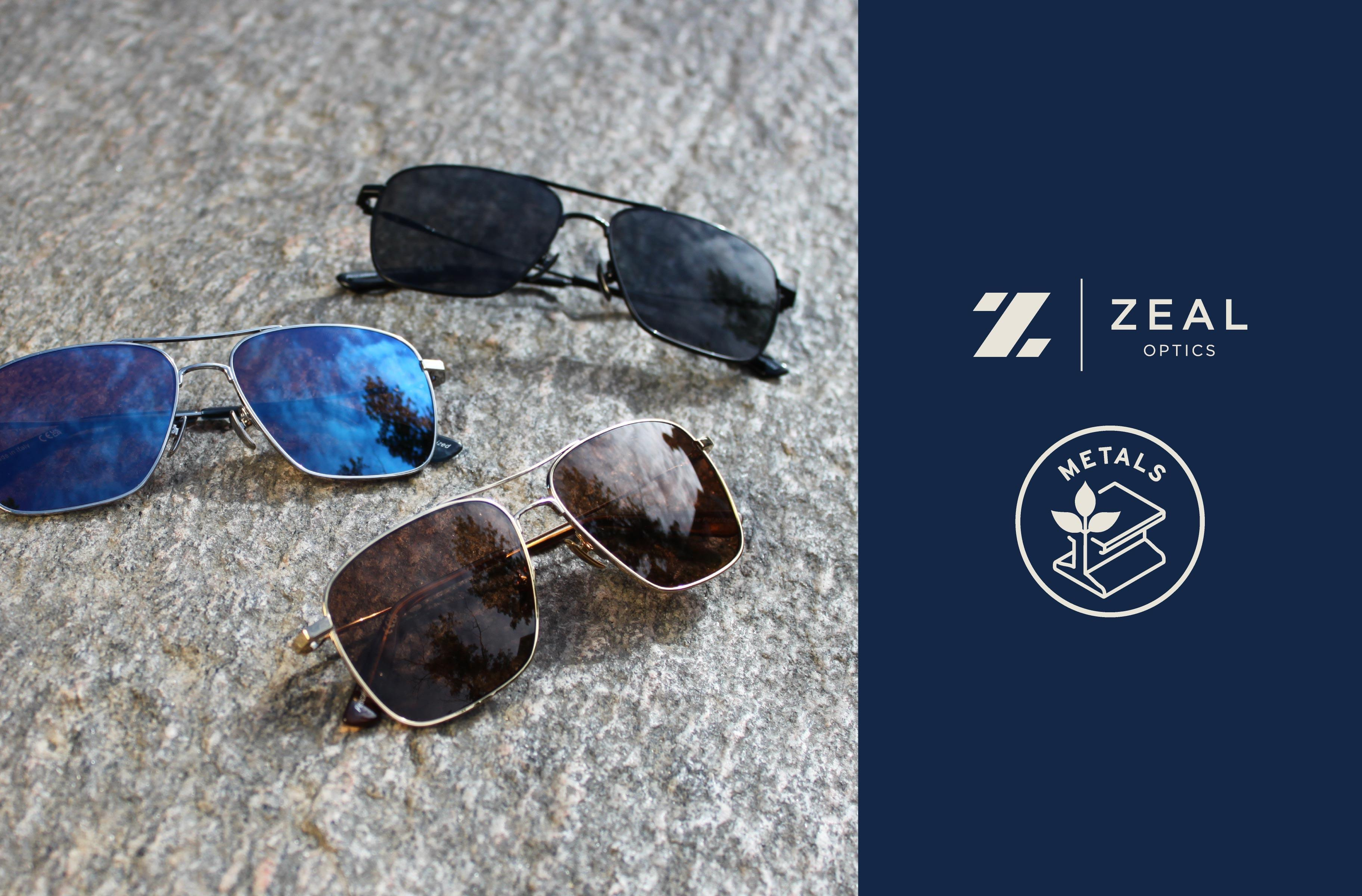 """Introducing the """"METALS"""" Frame Collection From ZEAL OPTICS!"""