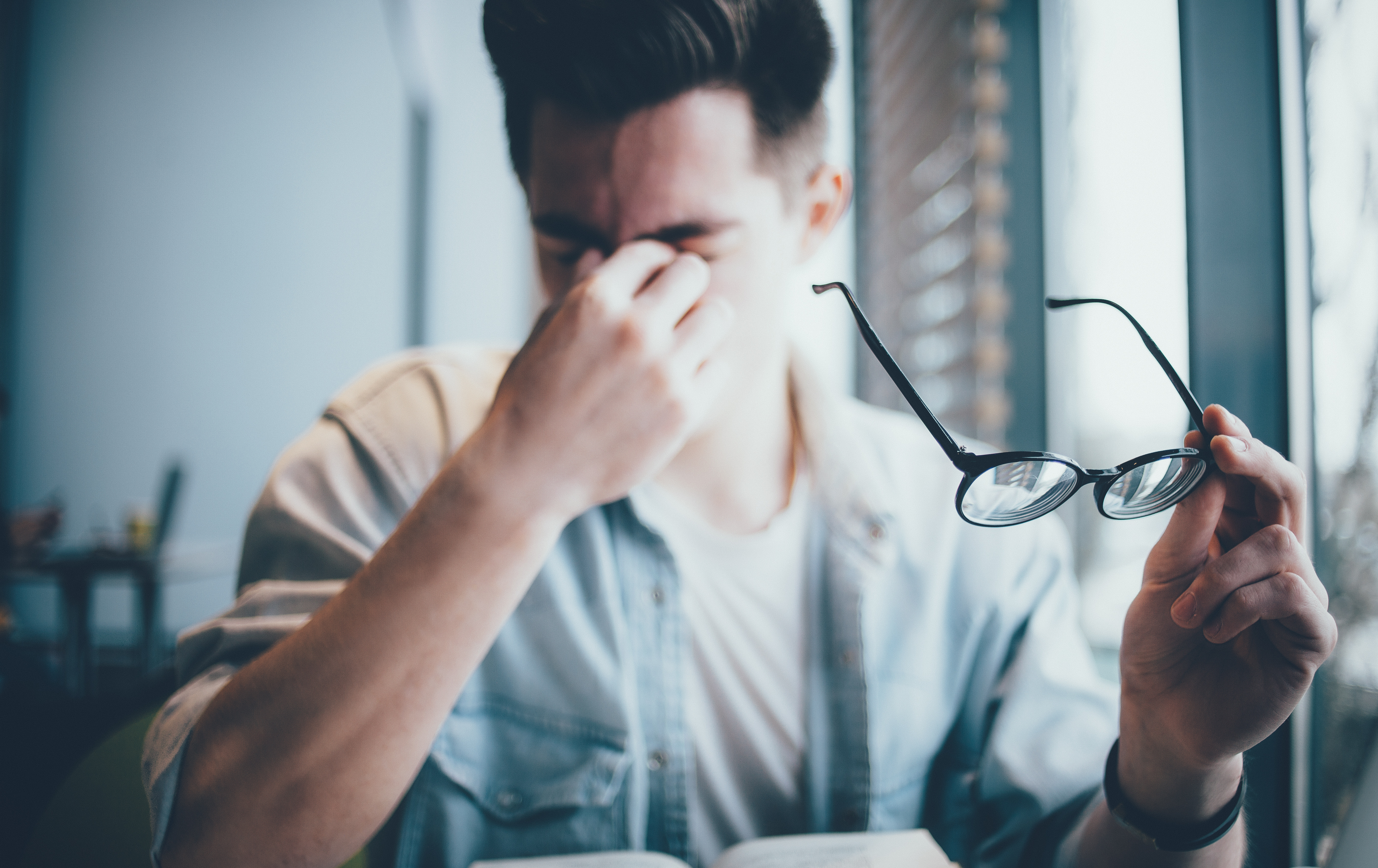 What is eye strain and how to avoid it ?