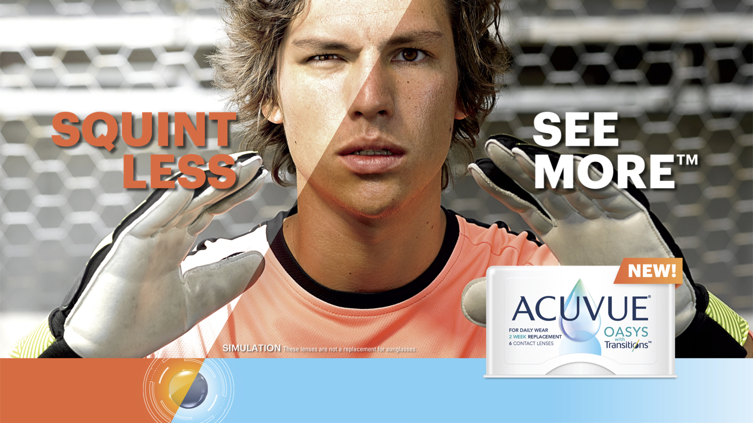 Acuvue Oasis Transitions contact lenses